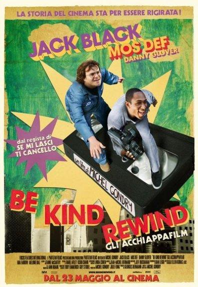 Lütfen Başa Sarın Be Kind Rewind film izle